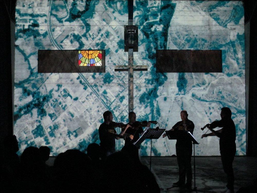 Concierto de Cierre del Festival MúsicaOcupa 2018.  Coliseo de Solanda. Sur de Quito. Junio 2018