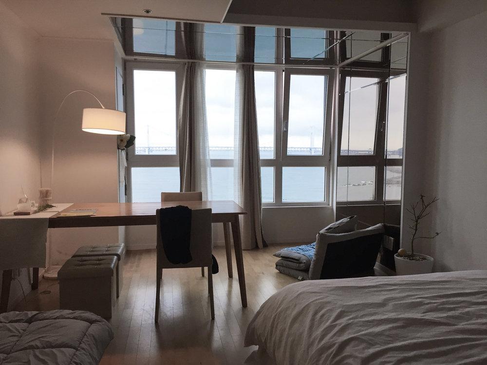Busan Airbnb Apartment Gwangalli Beach
