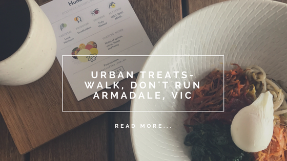 Urban Treats - Walk, Don't Run, Armadale VIC