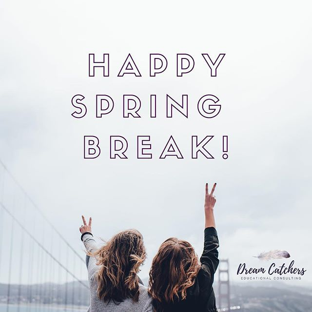 What are YOUR spring break plans??