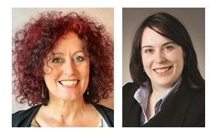Left: Karen Walsh, Chair Right: Airlie Fox, Director
