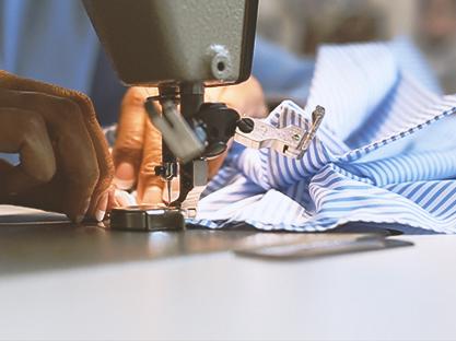 Textile shop 40 sqm