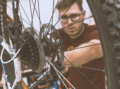Bike-Werkstatt