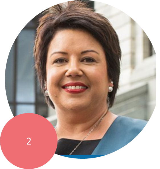 PAULA BENNETT   Deputy Prime Minister of New Zealand, Deputy Leader of the National Party, and MP for Upper Harbour, holds the Cabinet portfolios of State Services, Women, Tourism, Police, and Climate Change Issues.