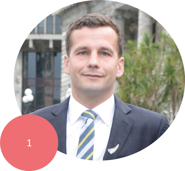 DAVID SEYMOUR      Seymour is the ACT Party Leader, Member of Parliament for Epsom, and Parliamentary Undersecretary to the Ministers of Education and Regulatory Reform