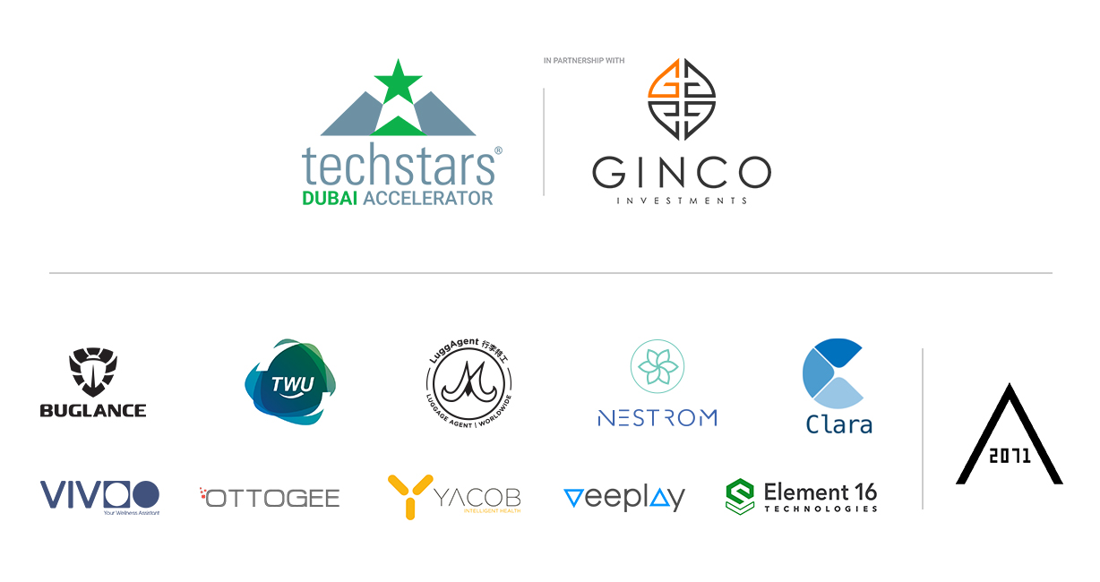 Techstars Dubai Accelerator in Partnership with GINCO welcomes its second class at AREA 2071