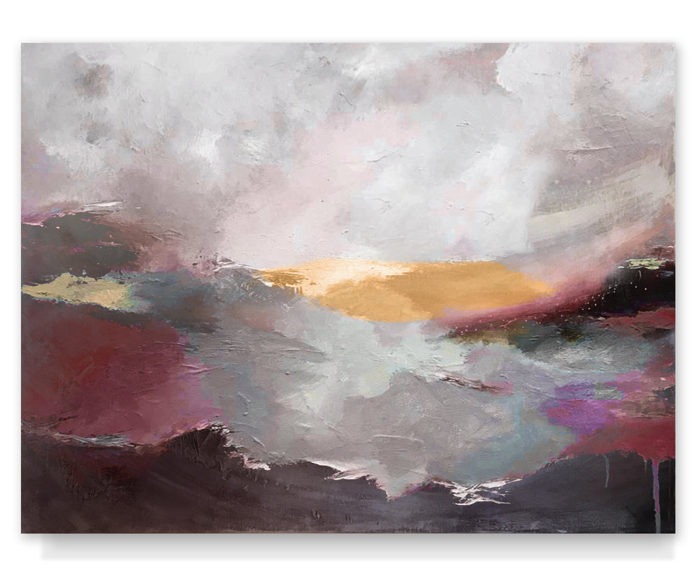 Stormy Sea (40x30) *SOLD*