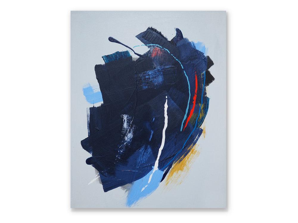 Blue Island (12x16x1.5)