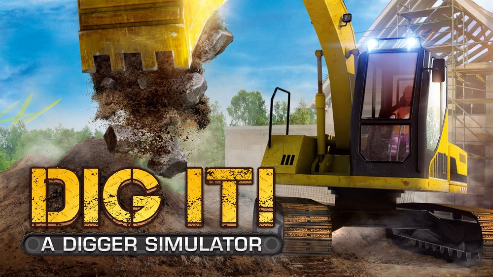 DIG IT! A Digger Simulator  Pc, Steam Cape Copenhagen 2014.