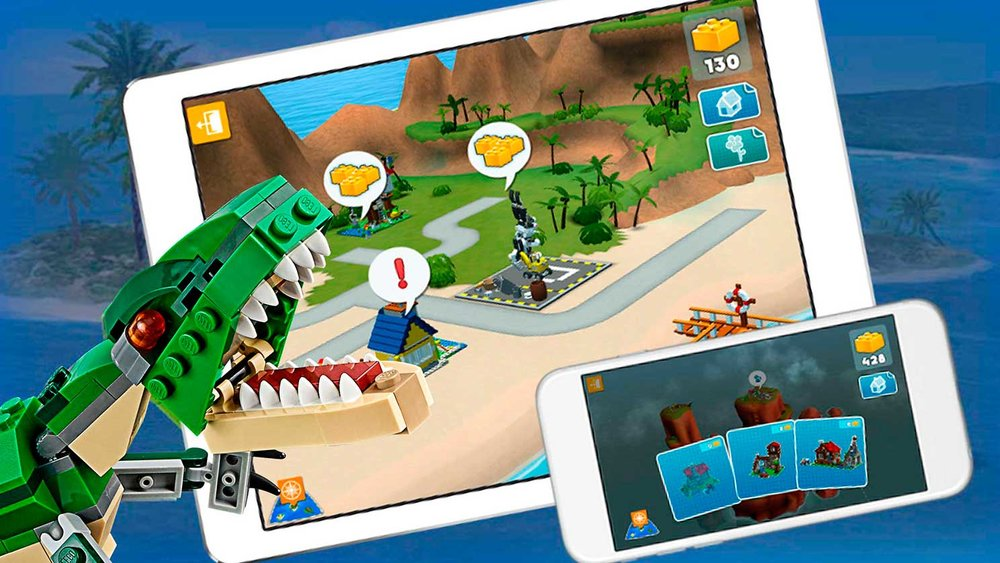LEGO Creator: Creator's Island iOS, Android. Cape Copenhagen 2013-2017