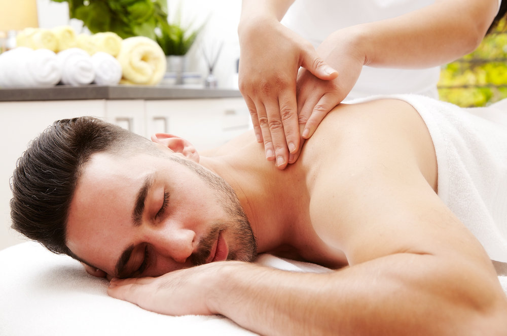 Male Aromatherapy Massage