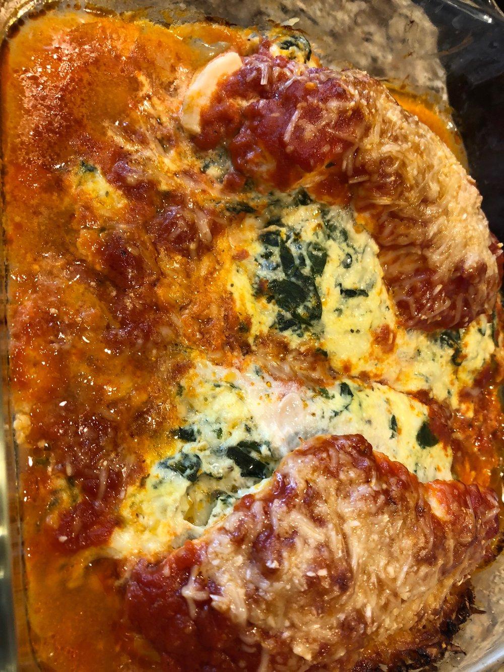 Keto Italian Stuffed Chicken Recipe
