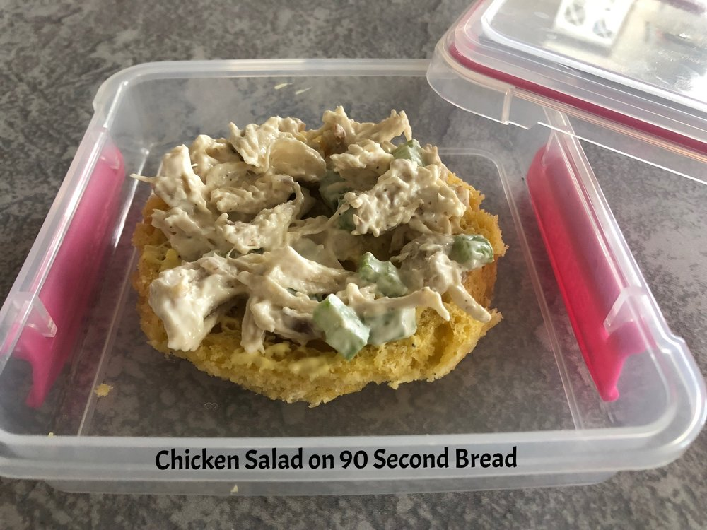 Lunch Chicken Salad 90s Bread Keto and Low Carb.jpg