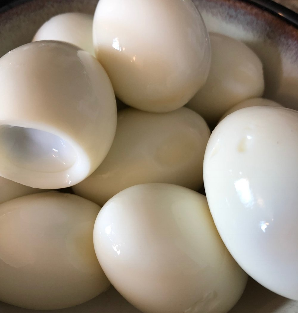 Keto Low Carb Instant Pot Hard Boiled Egg Recipe