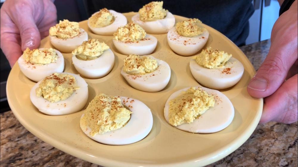 Keto Diet instant pot hard boiled eggs recipe