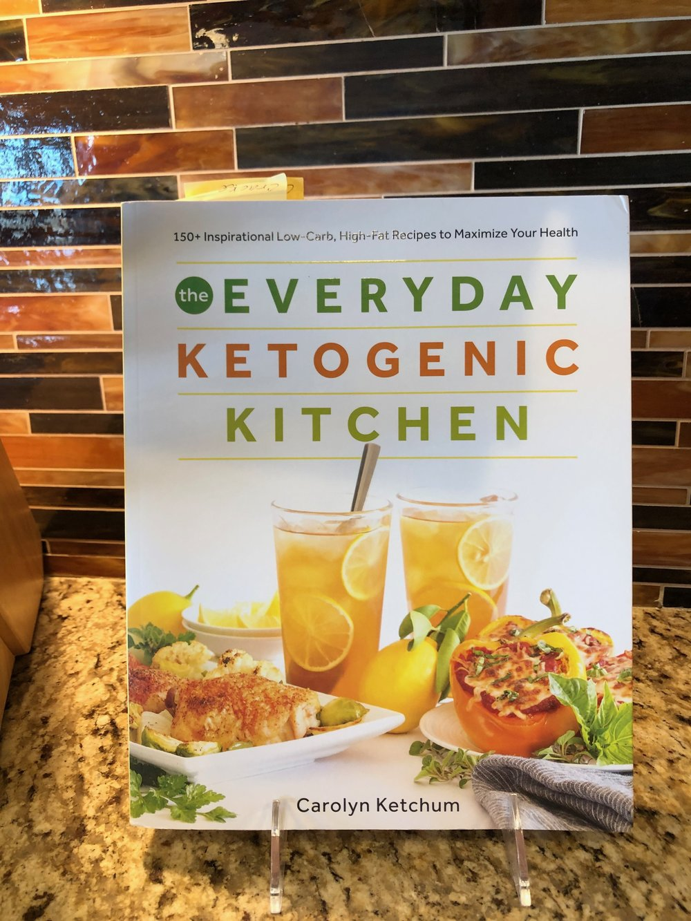 Carolyn Ketchum cookbook keto recipes everyday ketogenic living