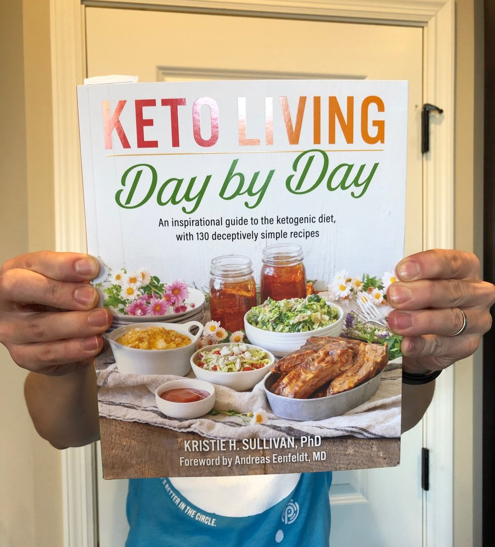 Keto living day by day cooking keto with kristie ketogenic cookbook