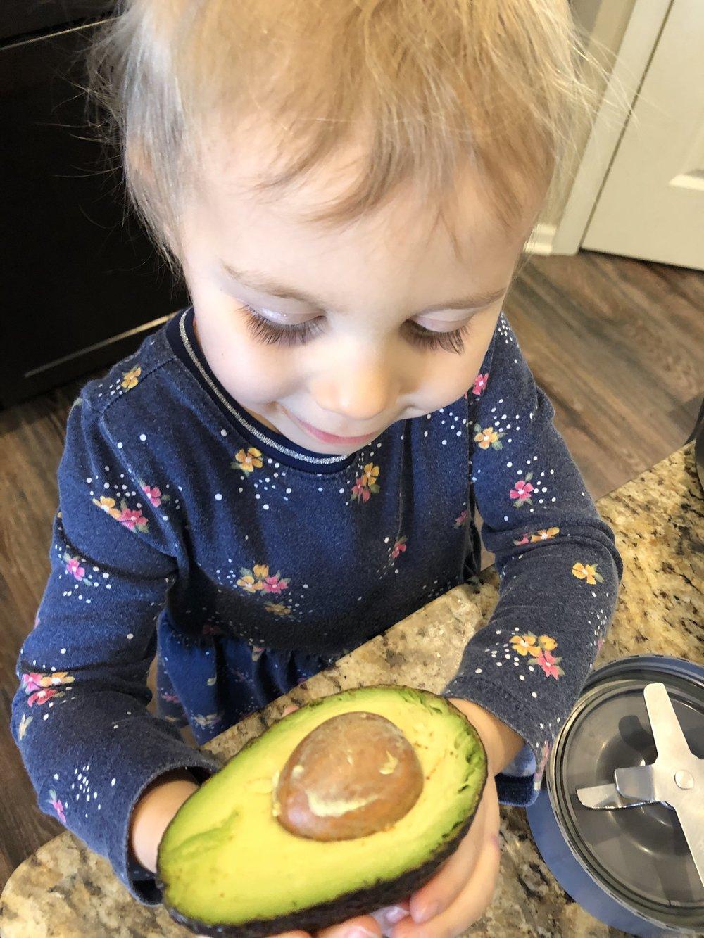 Fresh avocados in your keto shake