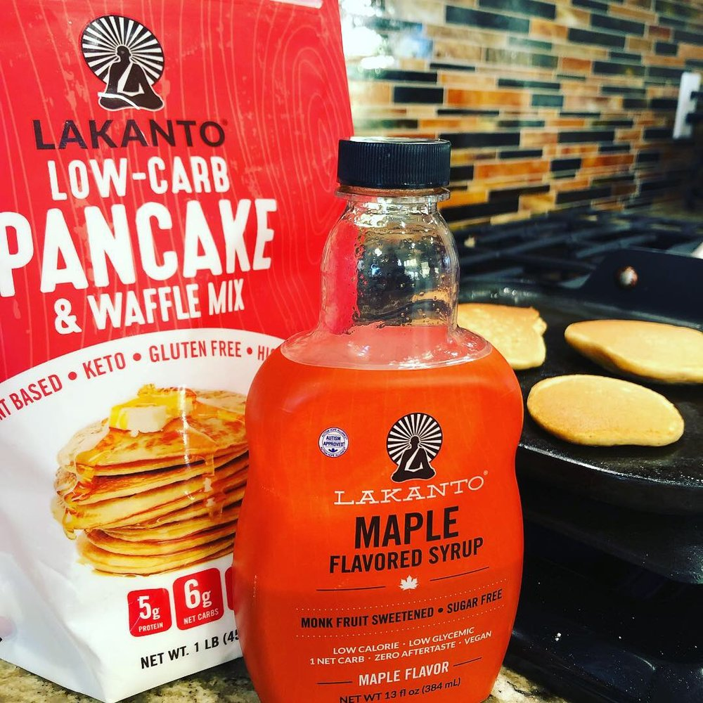 Enjoy your keto pancakes AND your keto syrup!