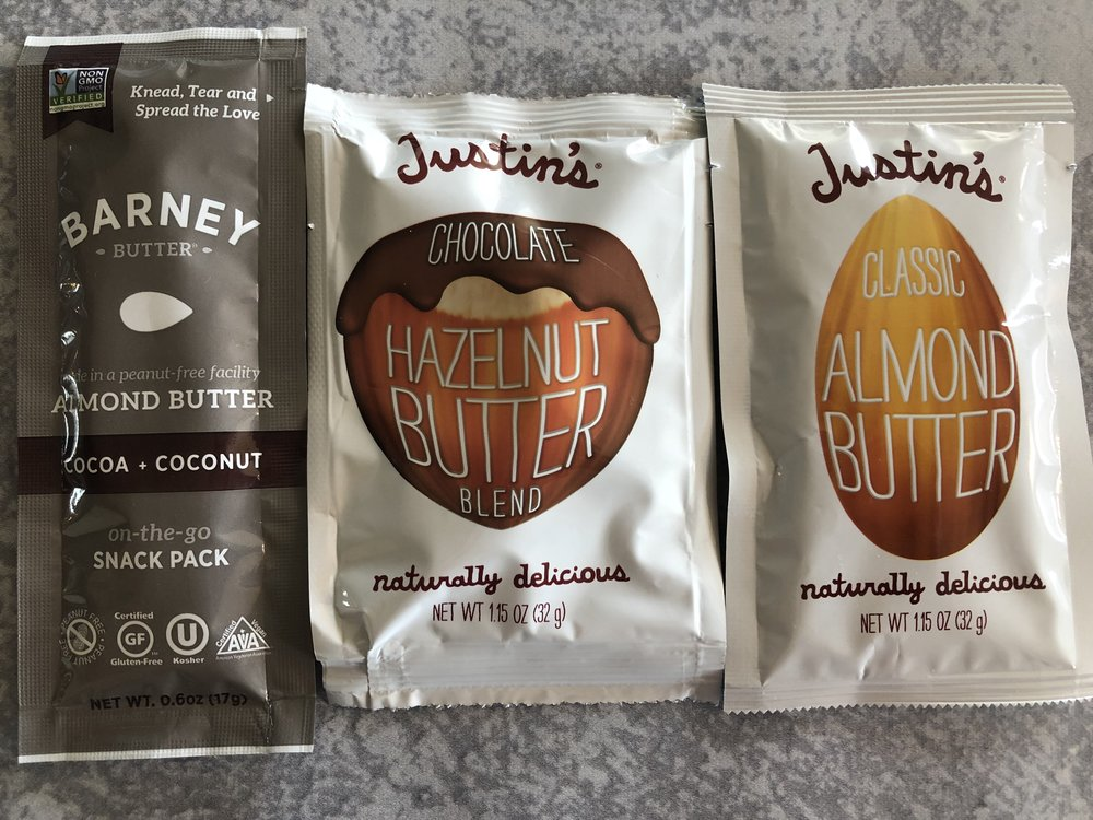 Keto nut butter low carb snacks on the go