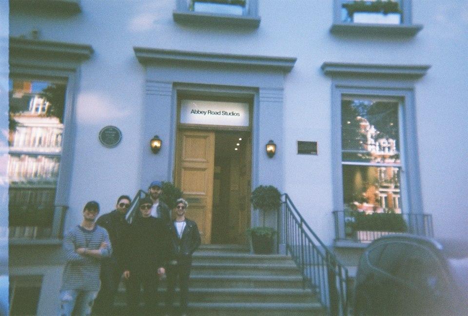 Mr Jack Lewin and KEEMOSABE in front of the legendary door