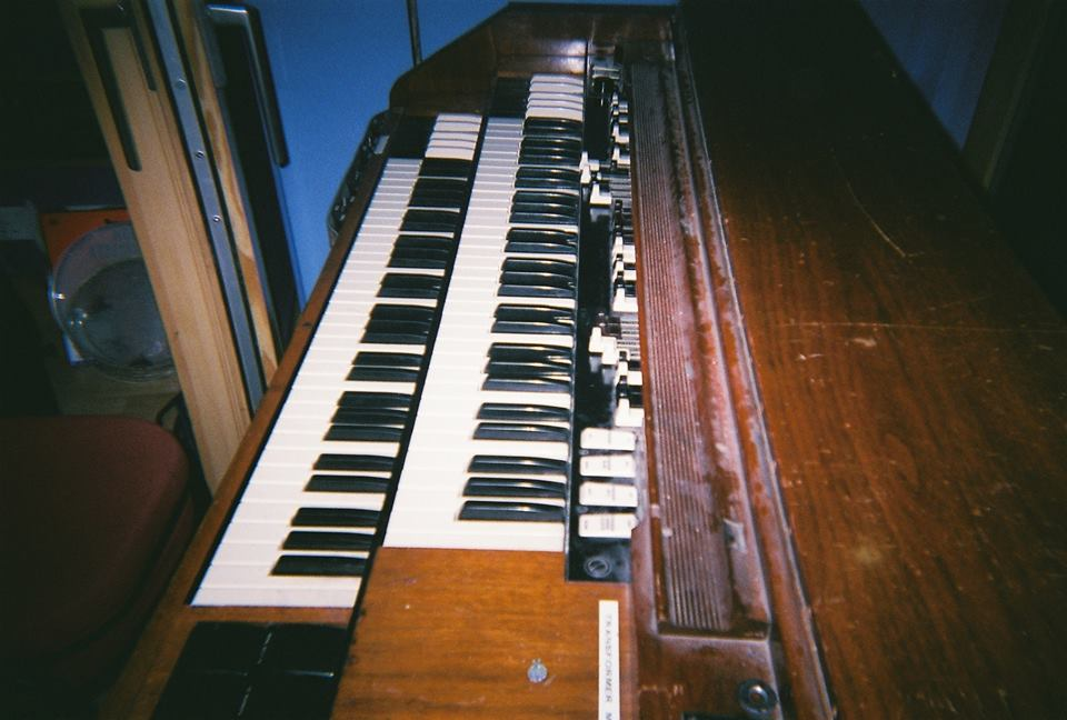 Hammond Organ that we used for some effects layers in the bridge of the tune