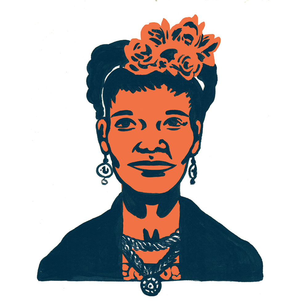 Image of founder Ja'Nai Frederick via an illustration by Emily Herr (Richmond, VA illustrator).