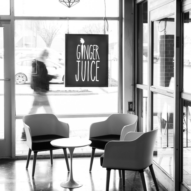 Erin Powell's Ginger Juice - Photography by Sarah Der