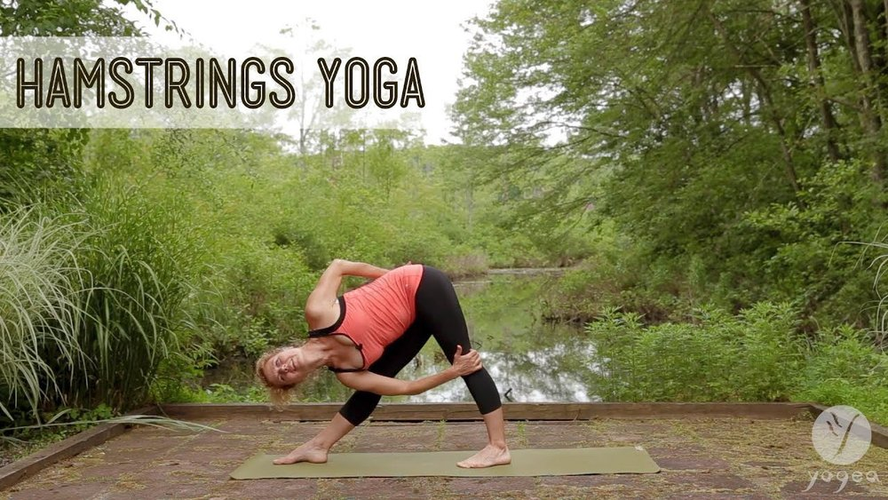 Hamstrings Yoga Routine: Loosen Up (open level) — Daily Moments