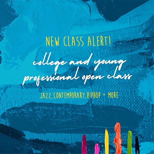 NEW College classes beginning February 18th!  Class pass options available... Details & Sign up link in bio!🎉 . Questions? Email us at Info@VariationsStudio.com . Link: For more information, visit https://goo.gl/forms/p9OqNoyLFmtIXNUv2