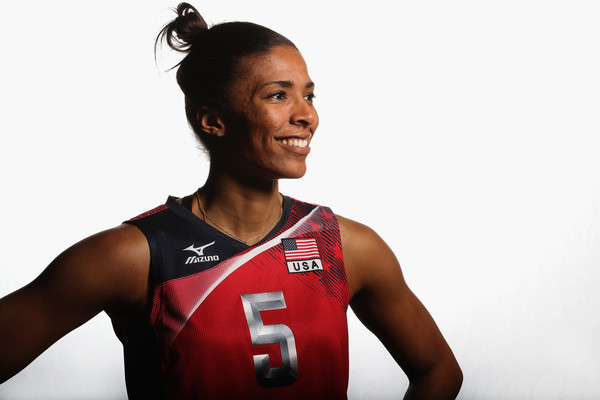 RACHAEL ADAMS - TEAM USA WOMENS INDOOR VOLLEYBALL   MIDDLE BLOCKER FROM CINCINNATI, OHIO