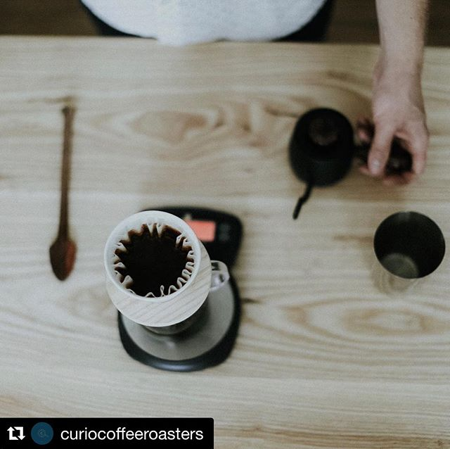 When dat coffee makes your table look good 😏 Congratulations to our friends @curiocoffeeroasters for their launch this week! ☕️