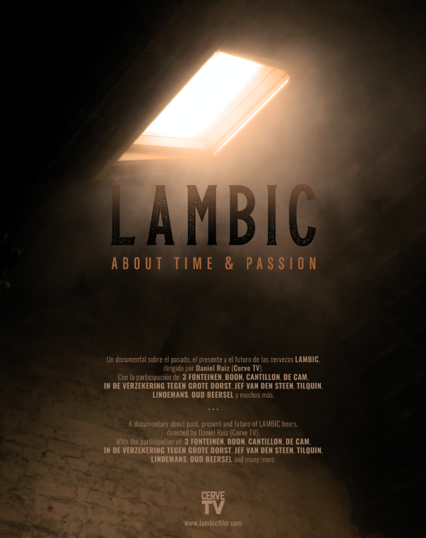 "Poster del documental ""Lambic: about time & passion"""