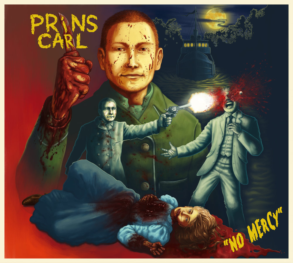 CD - Prins Carl - No Mercy €4