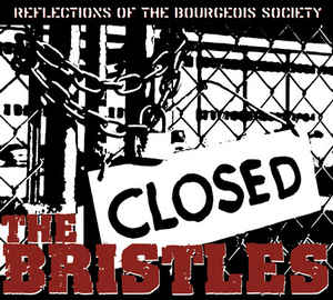 LP - The Bristles - Reflections Of The Bourgeois Society €3