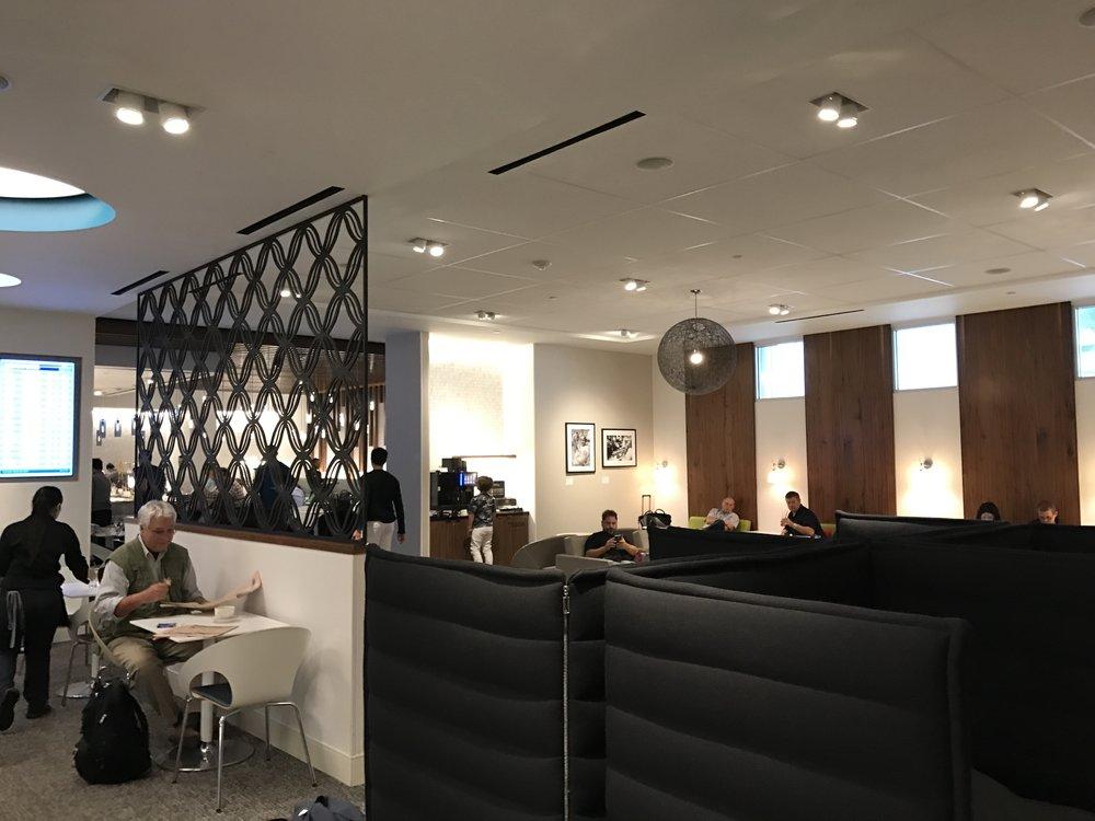 IAH Centurion Lounge Area