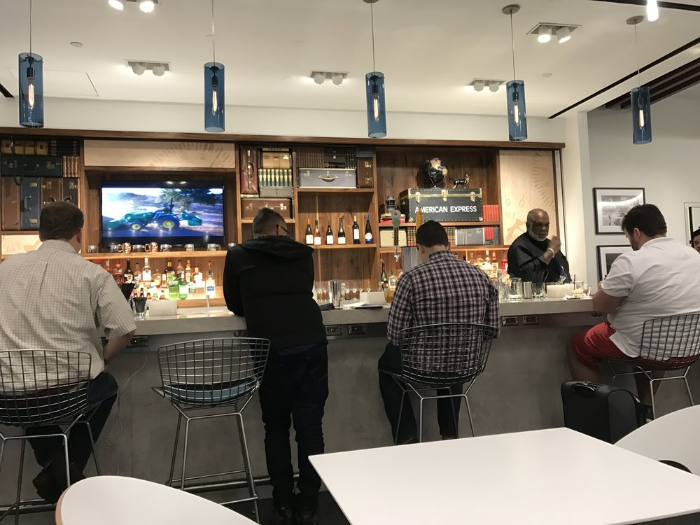 IAH Centurion Lounge Bar Area