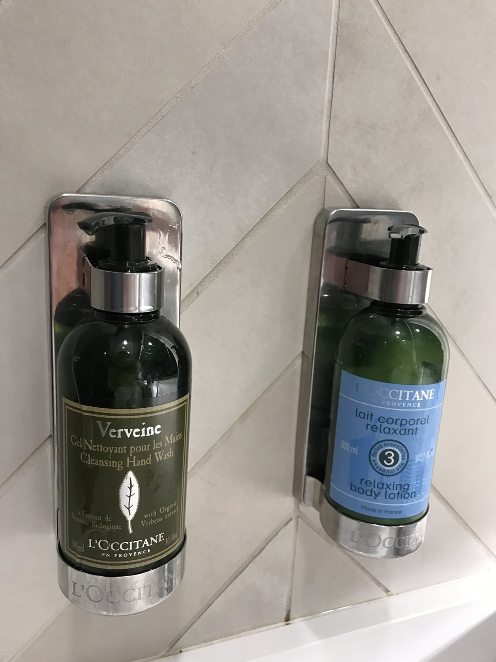 L'Occitane En Provence toiletries