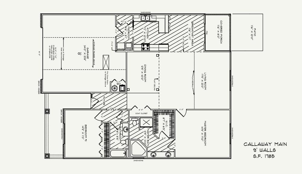 Calloway Floorplan