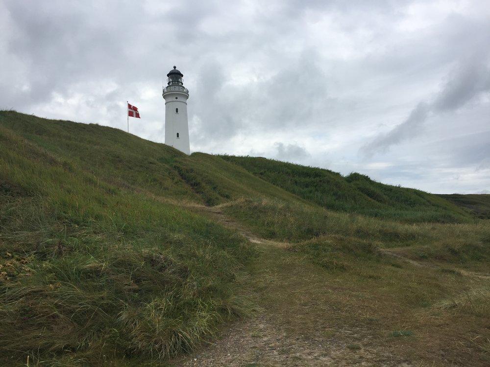 Good morning Danmark 🇩🇰 lørdag den 22.juli første dag av over tre ukers vandring gjennom Jylland.