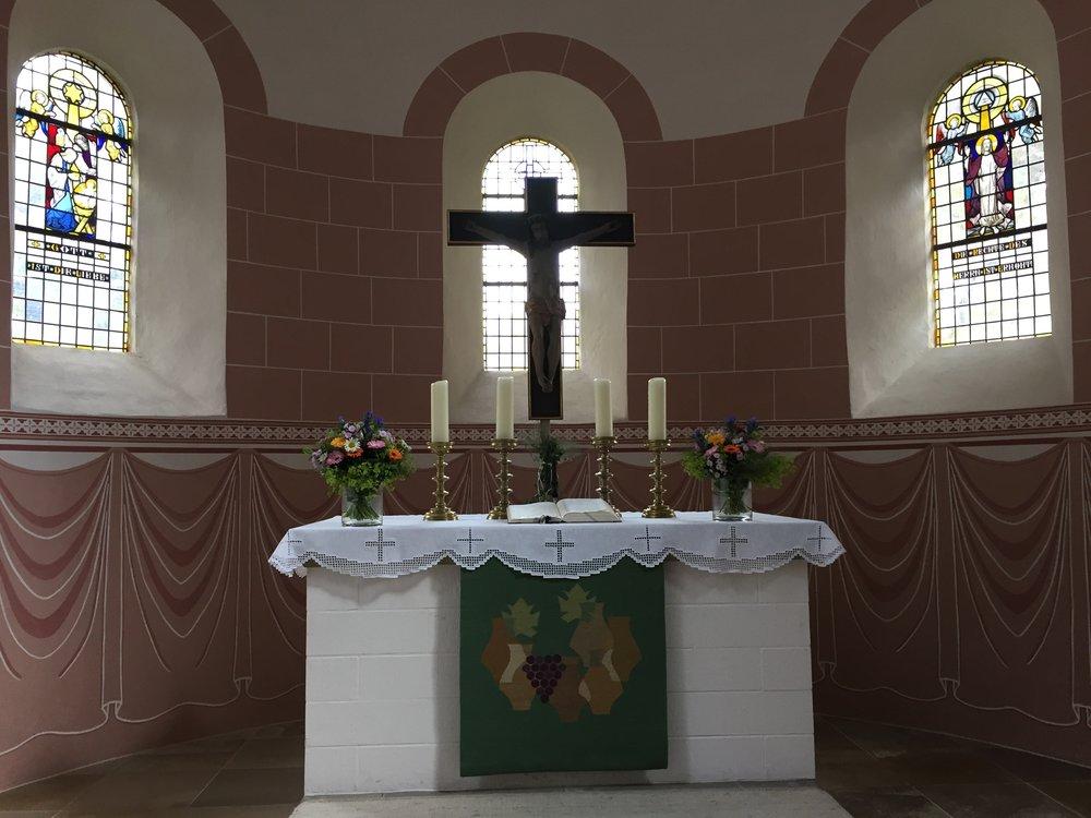 Litt om St.Viti kirken i Zeven: