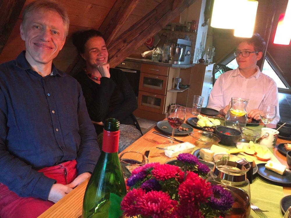 Ulrich, Heidi og Ari.