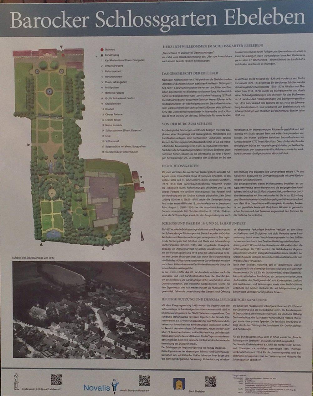 Her er noen bilder fra Schlossgarten