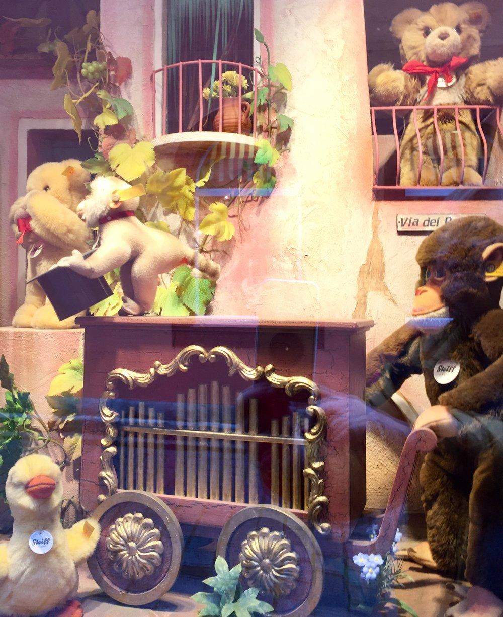 En butikk med bare bamser.