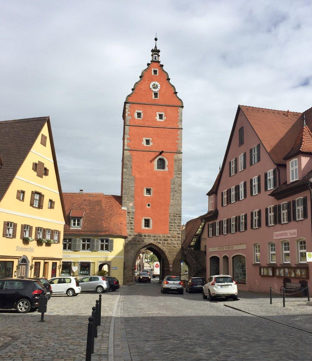 Enda en av de tyske sjarmerende byene.