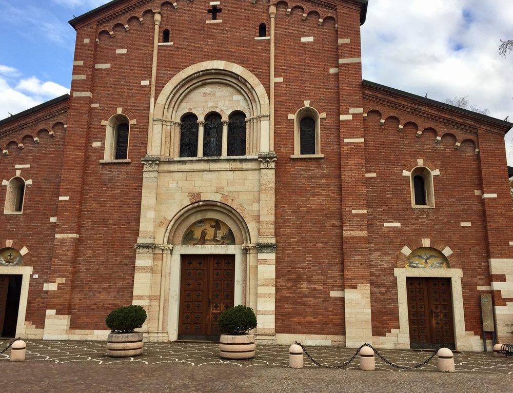 Kirken i Pergine