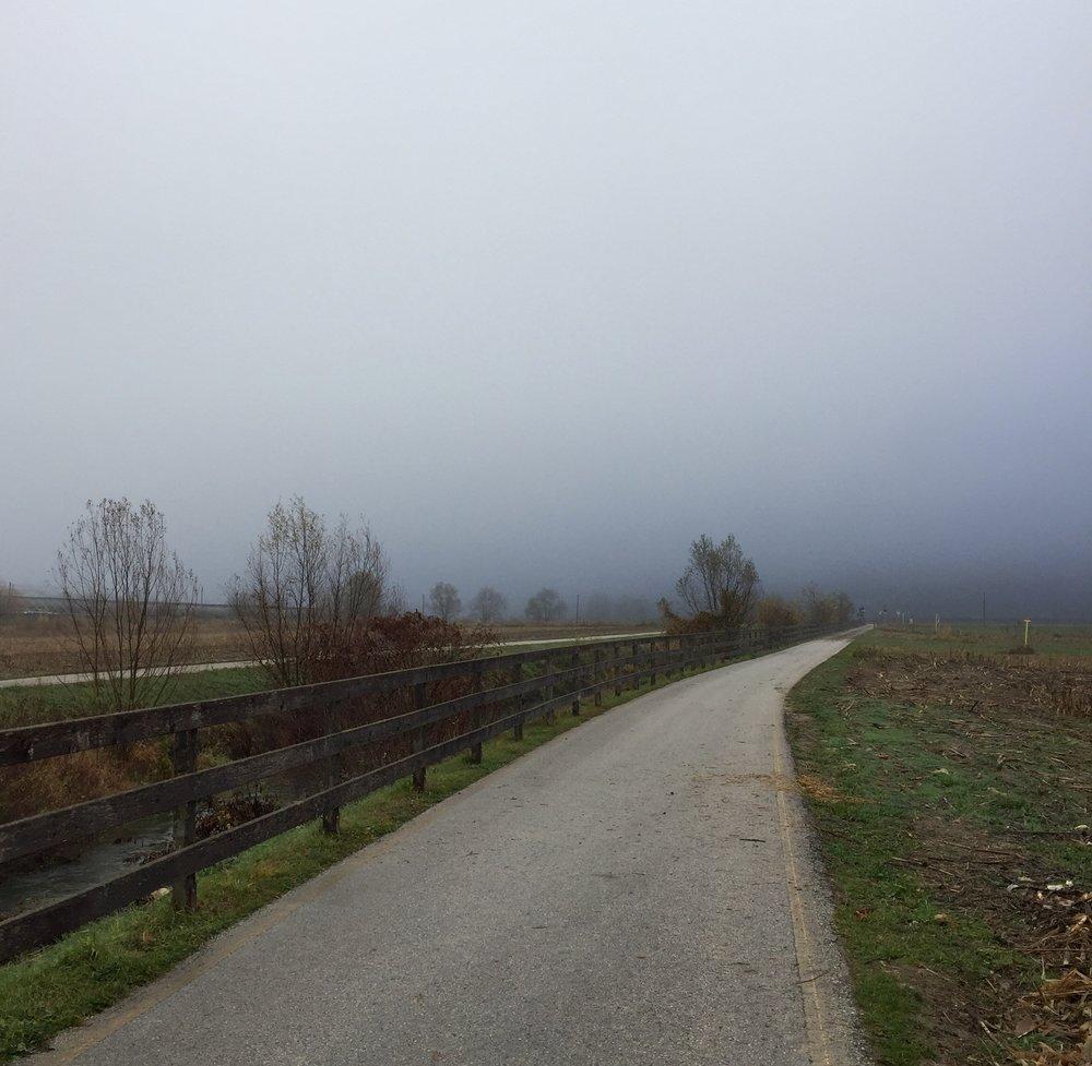 ....den endeløse landevei.......