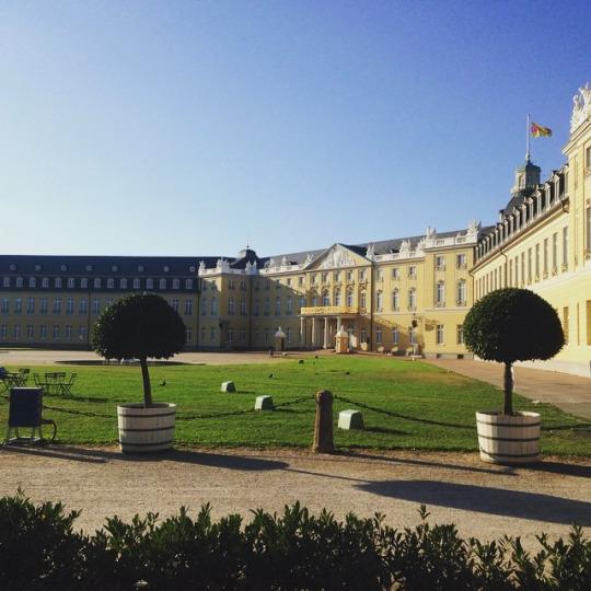 Karlsruhe palace, nice!