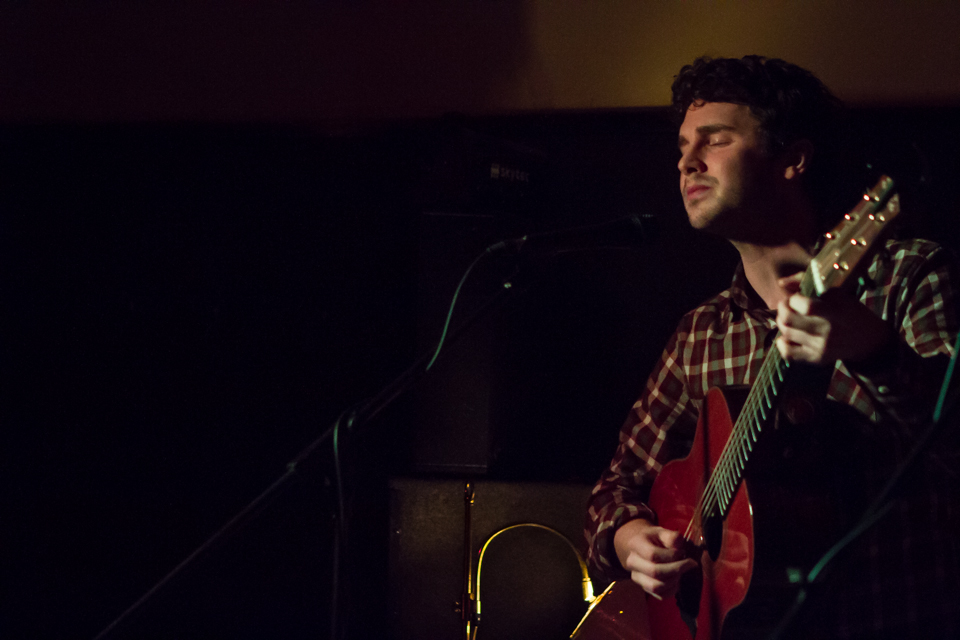 Playing at The Tin, Coventry, 2014