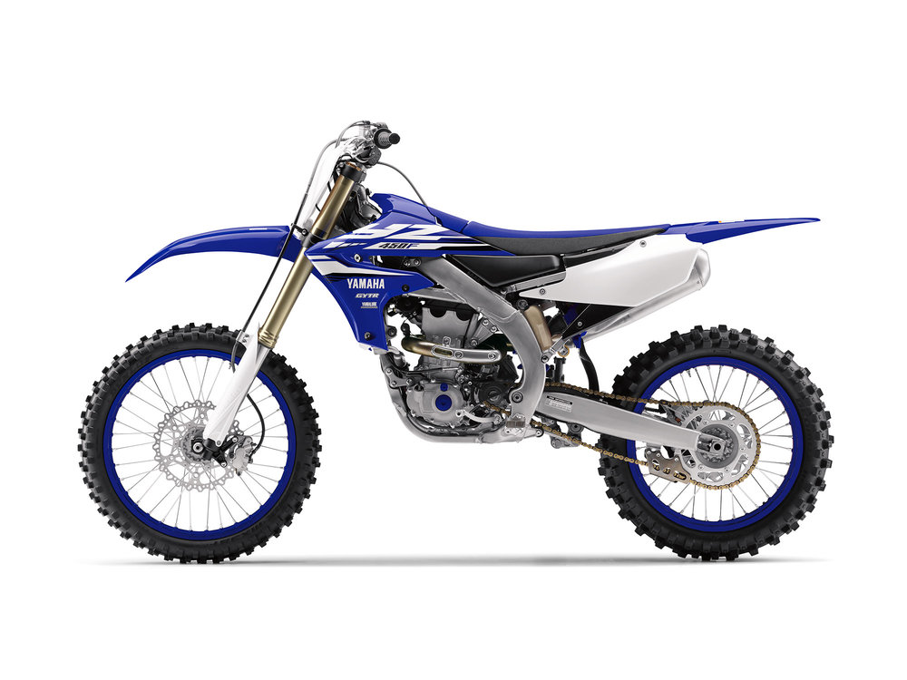 The 2018 YZ450F is due to land in dealers early August.